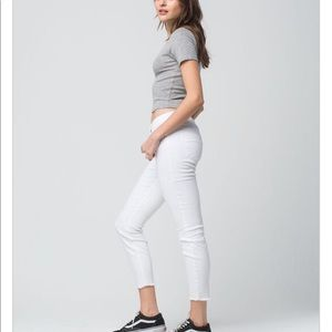 RSQ Jeans - RSQ Like new white Baja ankle jeans
